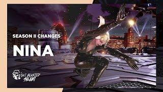 Tekken 7 - Nina Season 2 Changes
