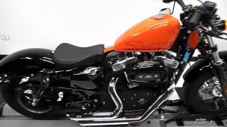 10. 2010 Harley Davidson XL1200X Sportster Forty-Eight Orange - used motorcycle for sale - EP, MN