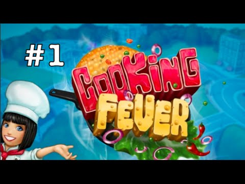 Let's Sell Some Food! #Part 1 (Cooking Fever - IPhone Gameplay)