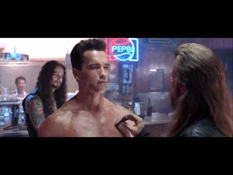 Terminator 2: Judgment Day Biker Bar Scene Bad To The Bone HD