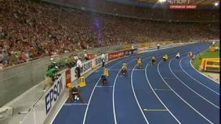 Usain Bolt 200 metres World Record 19.19