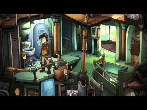 геймплей Deponia - The Complete Journey