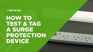 How to Test and Tag a Surge Protection Device