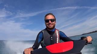9. Cruising the Sea Doo Wake 155