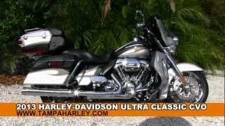 6. New 2013 Harley-Davidson FLHTCUSE8 CVO Ultra Classic Electra Glide review