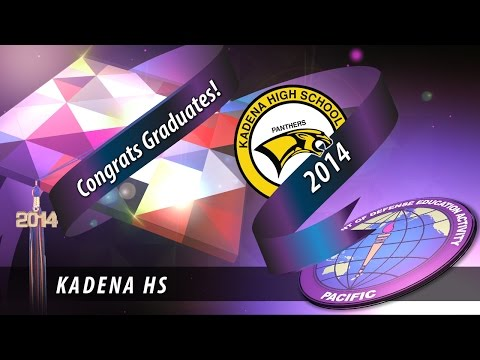 DoDEA Pacific: Kadena High School graduation 2014