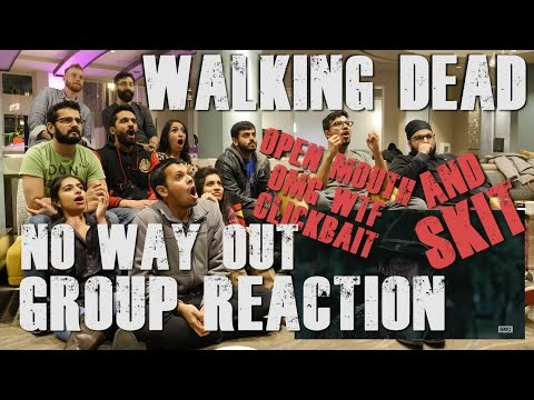 "The Walking Dead - S6E9 ""No Way Out"" - Group Reaction and Skit"