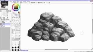 Process video of how I paint rocks. I hope you can find this useful :) feel free to suggest other process you would like to see!My deviantART: http://kawiku.deviantart.com/