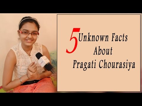 5 Unknown Facts About Pragati Chourasiya