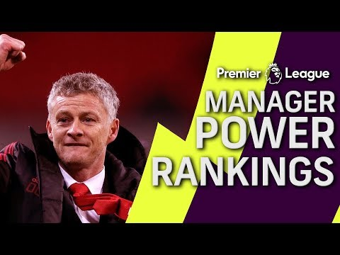 Video: Ole Gunnar Solskjaer stays at top of manager power rankings | Premier League | NBC Sports