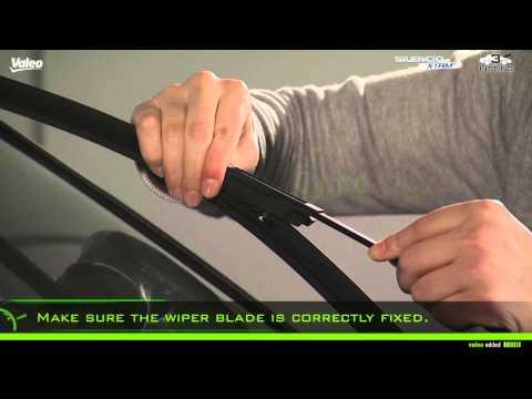 Valeo Silencio X.trm® - fitment of wiper blade - instruction type n° 3