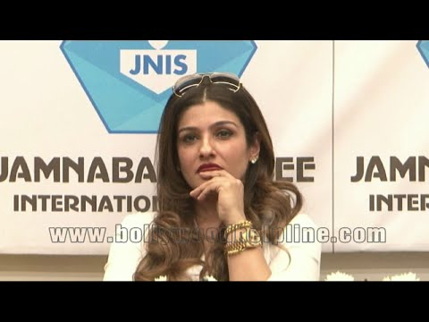 Raveena Tandon At Inauguration Of Indoor Multi-Purpose Sports Hall