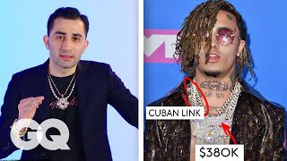 Video Jewelry Expert Critiques Rappers' Chains | Fine Points | GQ MP3, 3GP, MP4, WEBM, AVI, FLV Juni 2019