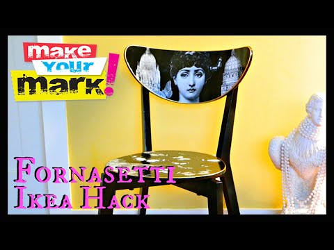 Fornasetti Ikea Hack