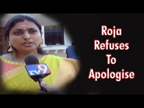 Roja refuses to apologise to AP Police for Anti-DGP comments
