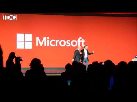 Steve Ballmer storms the Qualcomm keynote address as a surprise guest