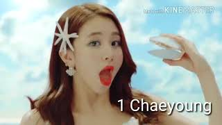 Video Twice beauty ranking in all mv's 2018 MP3, 3GP, MP4, WEBM, AVI, FLV November 2018