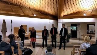 Video Choirizzo na vánočním koncertě Lucky Voice Band Praha
