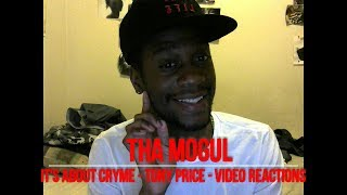 THA MOGUL - It's About Cryme & Tony Price (Father's Day Tribute) REACTIONS