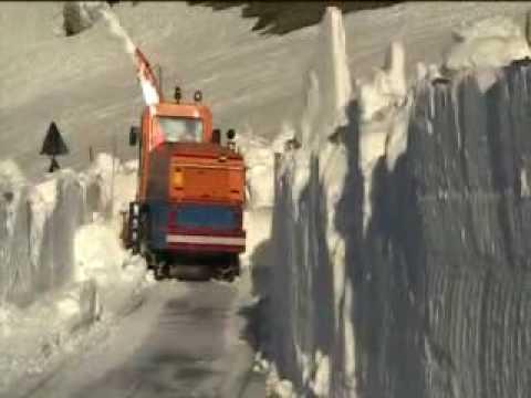 sgombero neve - Maggio 2009: Ditta Rovedatti Alberto s.n.c., Albosaggia (SO) sgombero neve, snow removal, snow blower.