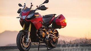 8. 2015 APRILIA CAPONORD 1200 ABS TRAVEL PACK