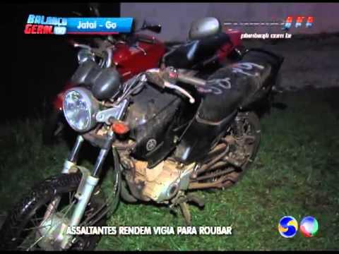 JATAÍ | Assaltantes invadem pátio da SMT e roubam moto