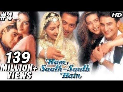 Hum Saath Saath Hain Full Movie | (Part 4/16) | Salman Khan, Sonali | Full Hindi Movies