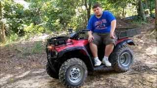 7. My new 4 wheeler. 2004 honda rancher 350 2wd.