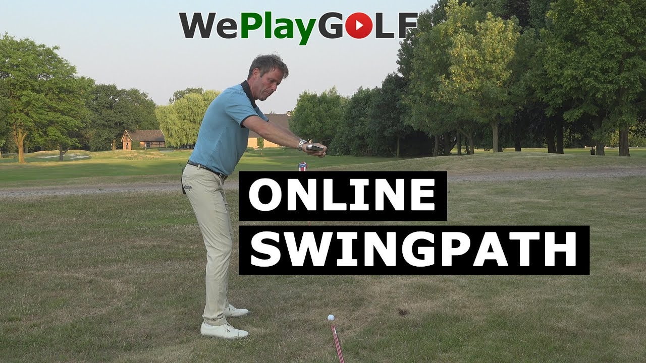 Online GOLF SWING - Always a straight shot!