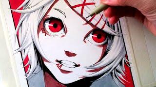 Let's Draw Suzuya Juuzou from Tokyo Ghoul - FAN ART FRIDAY