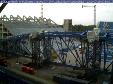 Construcción del estadio en cámara rápida