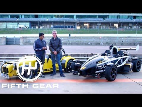 Fifth Gear: Ariel Atom 3.5 R Vs Caterham Seven 620R