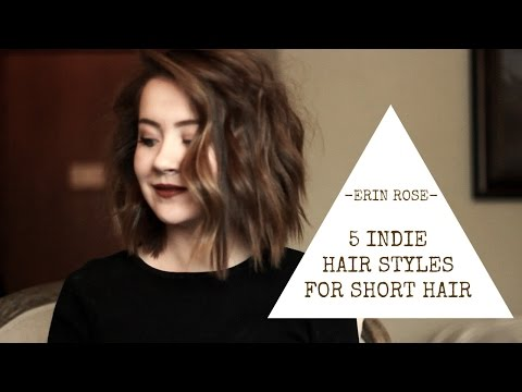 5 Hairstyles for Short Hair | Erin Rose