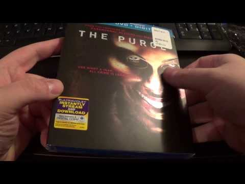 The Purge Blu-ray Unboxing