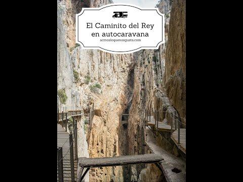 Der Caminito del Rey mit dem Wohnmobil