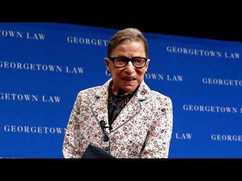 Justice Ruth Bader Ginsburg hospitalized after fracturing ribs