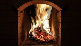 Download Lagu Crackling Fireplace Burning w/ Snow Storm & Howling Wind Outside | Relaxing Background Sounds (HD) Mp3
