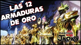 Tamano Japan  city photos : LAS 12 ARMADURAS DE ORO DE SAINT SEIYA TAMAÑO REAL [Random Japan]