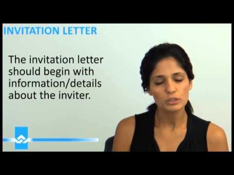 Invitation Letter Video