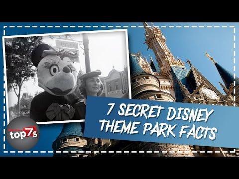 7 Secret Disney Theme Park Secrets