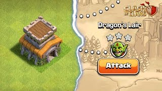 How to 3 Star 'Dragon's Lair' Goblin Map with Townhall 8 | Clash of Clans |