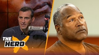 "Doug Gottlieb discusses O.J. Simpson's hearing and his legacy after being granted parole.SUBSCRIBE to get all the latest content from The Herd: http://foxs.pt/SubscribeTHEHERD  ►Watch the latest content from The Herd: http://foxs.pt/LatestOnTheHerd ►Watch the latest content from Kristine Leahy: http://foxs.pt/LeahyOnHerd ►Watch our favorite content on ""Best of The Herd"": http://foxs.pt/BestOnTheHerd ►UNDISPUTED's YouTube channel: http://foxs.pt/SubscribeUNDISPUTED ►Speak for Yourself's YouTube channel: http://foxs.pt/SubscribeSPEAKFORYOURSELF See more from THE HERD: http://foxs.pt/THEHERDFoxSports Like THE HERD on Facebook: http://foxs.pt/THEHERDFacebook Follow THE HERD on Twitter: http://foxs.pt/THEHERDTwitter Follow THE HERD on Instagram: http://foxs.pt/THEHERDInstagram Follow Colin Cowherd on Twitter: http://foxs.pt/ColinCowherdTwitter Follow Kristine Leahy on Twitter: http://foxs.pt/KristineLeahyTwitter  About The Herd with Colin Cowherd:The Herd with Colin Cowherd is a three-hour sports television and radio show on FS1 and iHeartRadio. Every day, Colin will give you his authentic, unfiltered opinion on the day's biggest sports topics, and co-host Kristine Leahy will bring you the latest breaking sports news.O.J. Simpson granted parole  THE HERDhttps://youtu.be/om4Zn44skPsThe Herd with Colin Cowherdhttps://www.youtube.com/c/colincowherd"