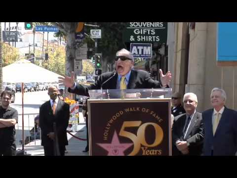 Mel Brooks Walk of Fame Ceremony