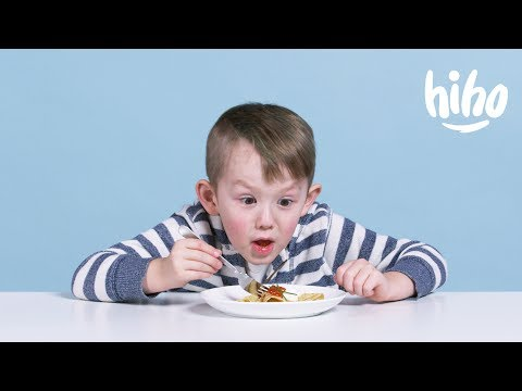 Kids Try Russian Food for the First Time