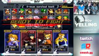 Liquid'Ken and Santiago vs Armada and Shroomed, INY