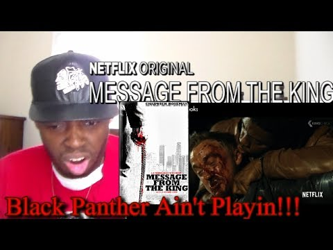 MESSAGE FROM THE KING Trailer (2017) Netflix REACTION!!!