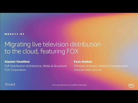 AWS re:Invent 2019: [REPEAT 1] Live broadcasting on AWS (MDS311-R1)