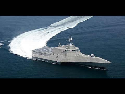 Военный корабль 21 века. Современные технологии.