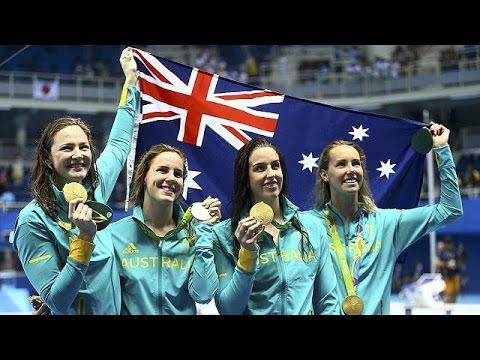 Ρίο 2016 – Κολύμβηση: Παγκόσμιο ρεκόρ για την Αυστραλία στα 4×100 ελεύθερο γυναικών