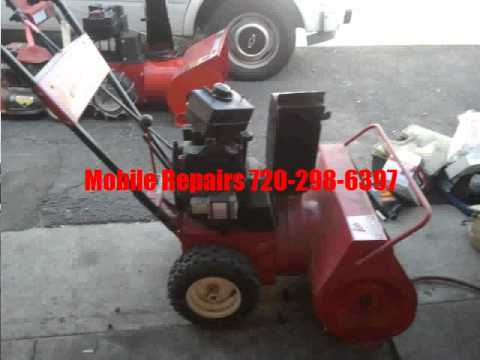 Snowblower Repair Parker | Call Us! 720-298-6397
